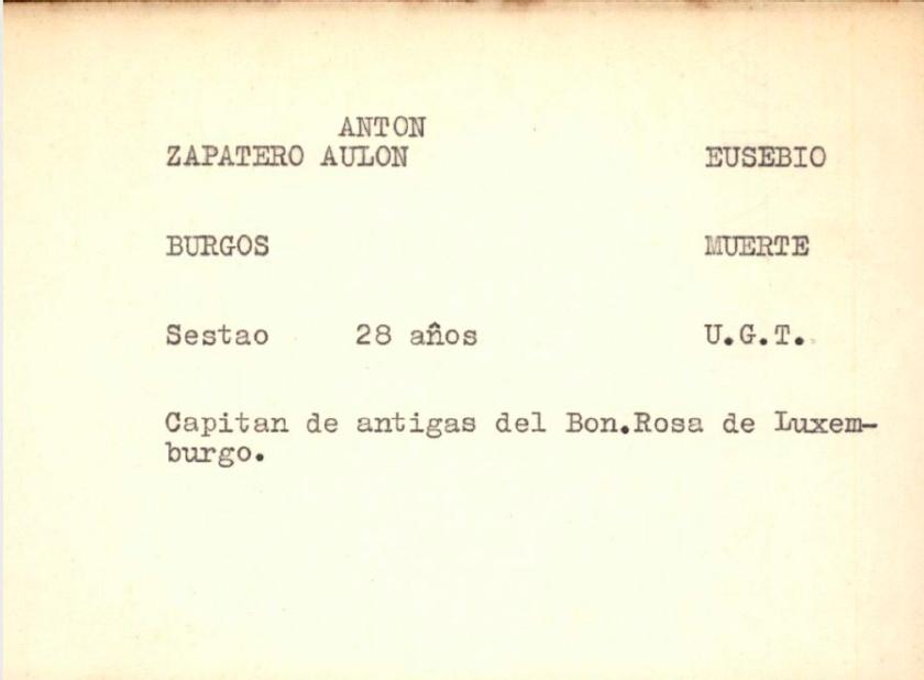 ZAPATERO ANTON EUSEBIO-preso Burgos-condena muerte